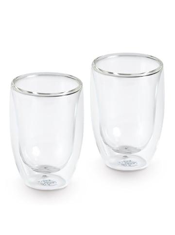 "KAHLA 2 tlg. Set doppelwandiges Wasserglas ""Café Sommelier 2.0"""
