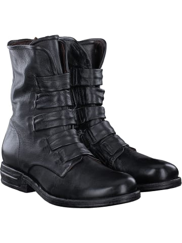 A.S.98 Stiefeletten in schwarz