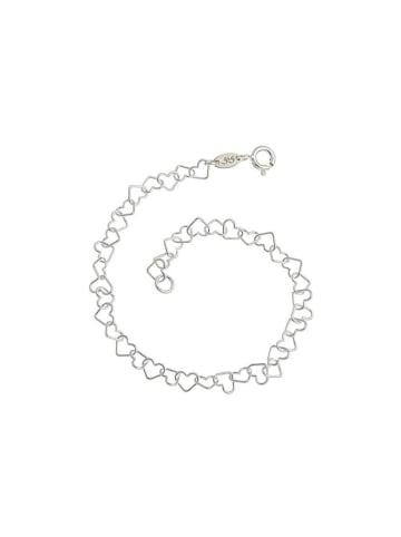 """SILBERKETTEN-STORE 925 Silber Armband """"Herzen"""""""