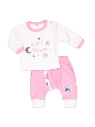 Baby Sweets 2tlg Set Shirt + Hose Sweet Dreams Mädchen in bunt
