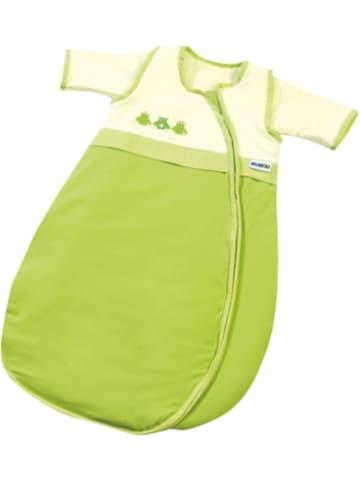 Gesslein Schlafsack Bubou, Frosch, weiß/grün