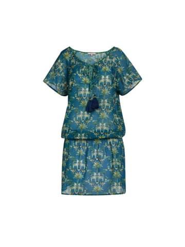 "PiP Studio Dress ""Duncky Tropic Twins Blue"" in Blau"