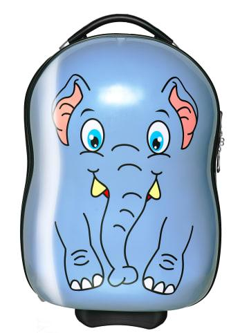 Packenger Kinderkoffer in Blauer Elefant