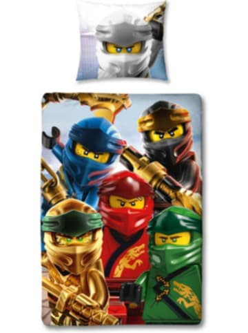 Character World Kinderbettwäsche LEGO Ninjago, 135 x 200 cm