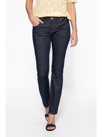 ATT Jeans ATT Jeans ATT JEANS Slim Fit Jeans in Glitzeroptik Belinda in dunkelblau