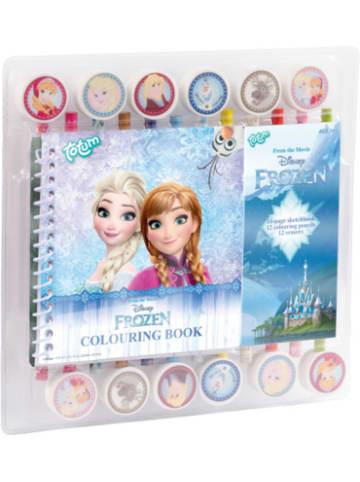 Totum Frozen - Malbuch-Set
