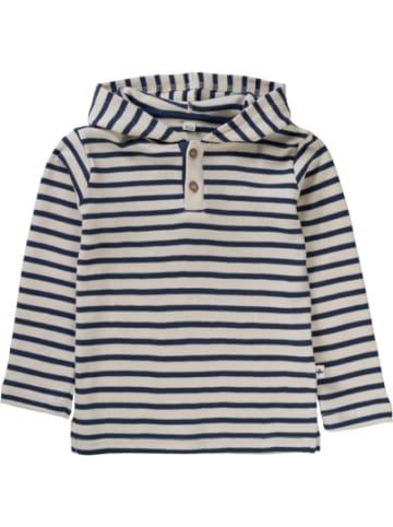 Leela Cotton Baby Langarmshirt mit Kapuze, Organic Cotton