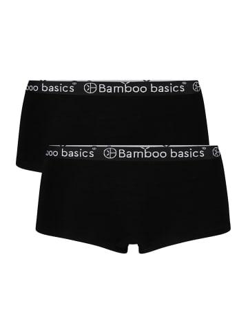 Bamboo Basics Panty 2er Pack in Schwarz