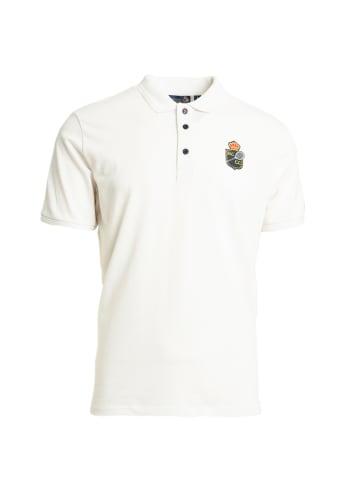 Sergio Tacchini Poloshirt Fancher/MC/MCH Polo in white/navy