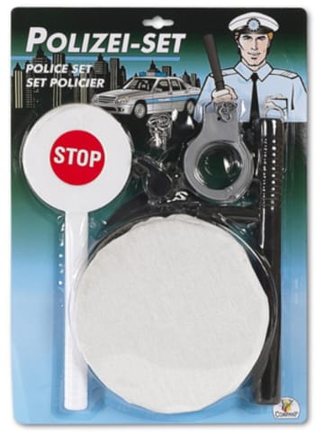 The Toy Company Polizei-Set, 5-teilig