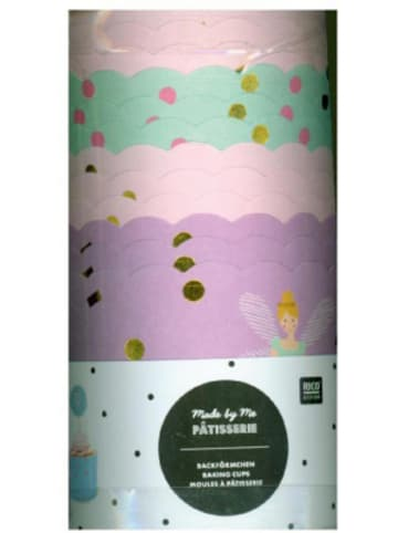 Rico Design Muffinförmchen Prinzessin, 12 Stück