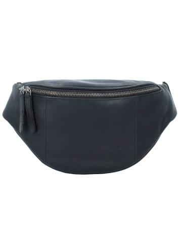 The Chesterfield Brand Wax Pull Up Eden Gürteltasche Leder 28 cm in schwarz