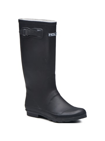 Mols Rubber Boot Welly in 1001S Black