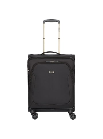 Stratic Trapez 4-Rollen Kabinentrolley 55 cm in black
