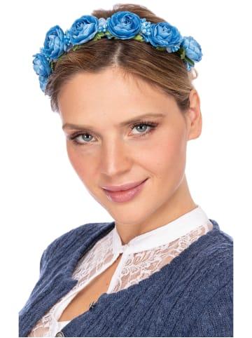 Fielana Haar- und Hutkranz ROSALINA 1005 blau