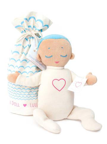 Lulla doll Lulla Doll Sky Einschlafpuppe mit Herzschlag in Hellblau