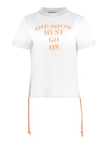 Thomas Rath Shirt Luxor in Weiß/Orange