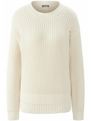 MYBC Pullover Rundhals-Pullover in offwhite