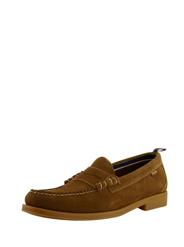 G.H. Bass & Co. Loafer Weejuns Larson II Suede in Suede Mid Brown