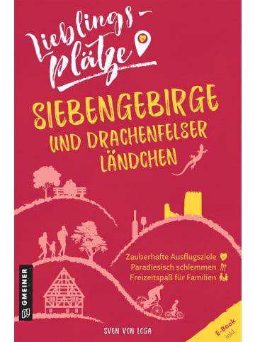Gmeiner-Verlag Lieblingsplätze Siebengebirge und Drachenfelser Ländchen