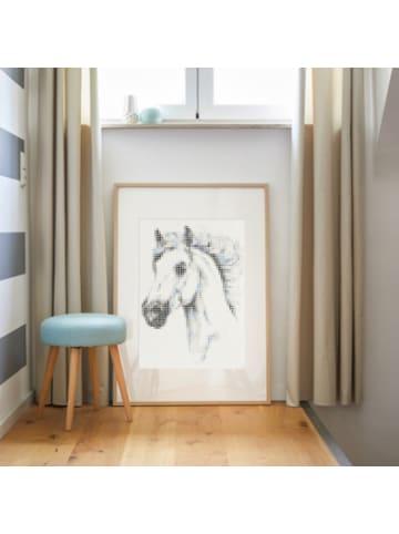 Dot on  art - animals - horse, 50 x 70 cm
