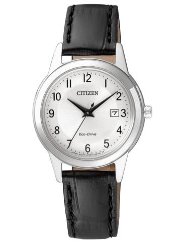 Citizen Analog Uhr 'FE1081' In Silber/Schwarz