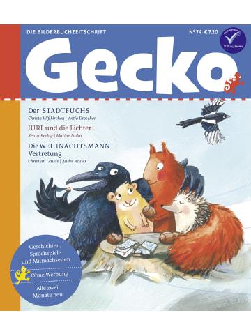 """Gecko Kinderzeitschrift Einzelheft """"Gecko Kinderzeitschrift"""" Nr. 74"""