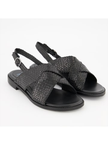Terry Sandalen in schwarz