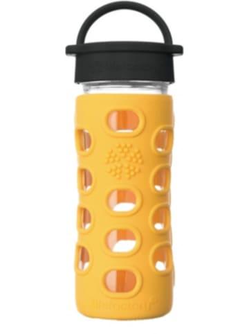Lifefactory Glas-Trinkflasche, Classic Cap, marigold, 350ml