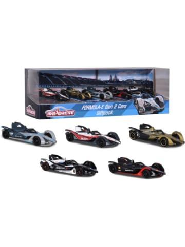 Majorette Formula-E Die-Cars 5 Stk. Geschenk-Set
