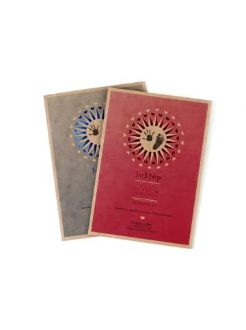"Berlindesign.store Baby-Abdruckset ""magic ink"" – 2D –  in Rot"