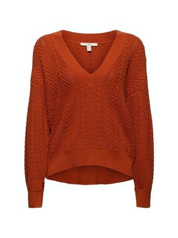 Edc by esprit Pullover in rust orange 5
