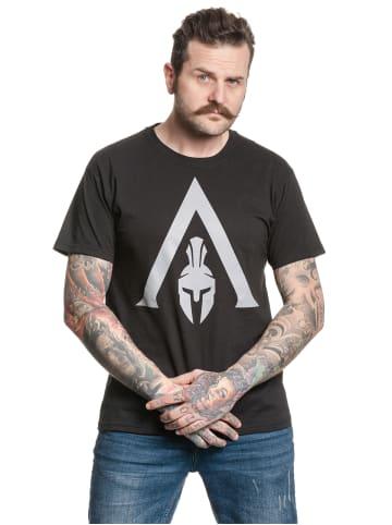 Ubisoft T-Shirt Assassins Creed Spartan in schwarz