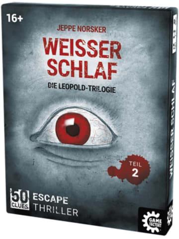 Game Factory 50 Clues - Weißer Schlaf, Die Leopold-Trilogie Teil 2 - Escape Thriller