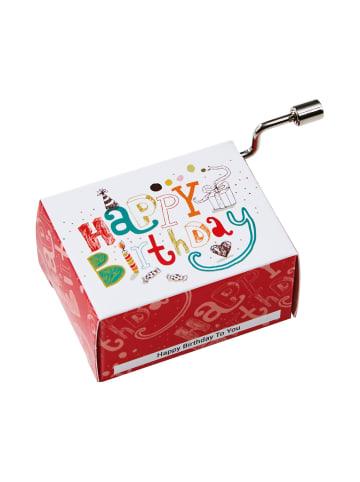 Butlers Spieluhr Happy Birthday klassisch SING A SONG in bunt