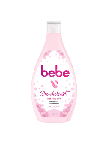 """Bebe Body Milk """"Soft"""" – 6er-Pack (6x 400ml)"""
