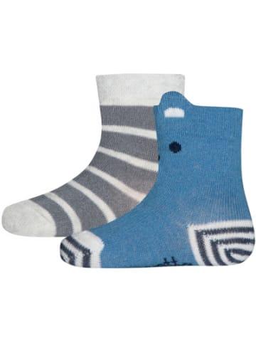 Sanetta socks Baby Socken Doppelpack , Bärchen