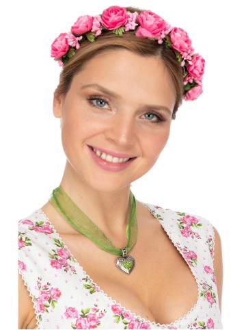Fielana Haar- und Hutkranz ROSALINA 1008 pink