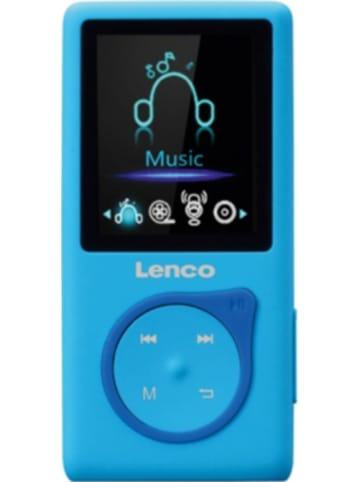 Lenco MP-108BU - MP3-/MP4-Player mit 8 GB micro SD Karte, Farbdisplay und integri...
