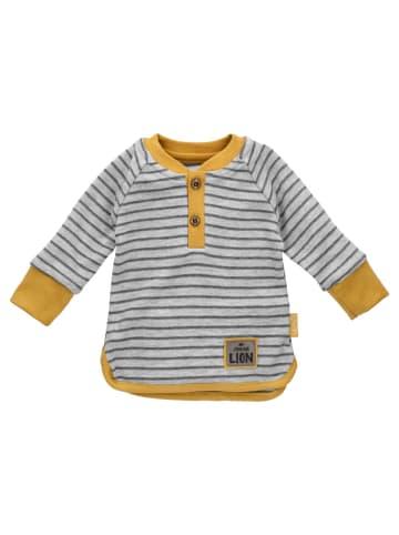 Bamar Nicol Shirt Langarm Prince - by Bamar Nicol in grau senfgelb