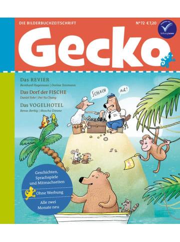 """Gecko Kinderzeitschrift Einzelheft """"Kinderzeischrift"""" Nr.72"""