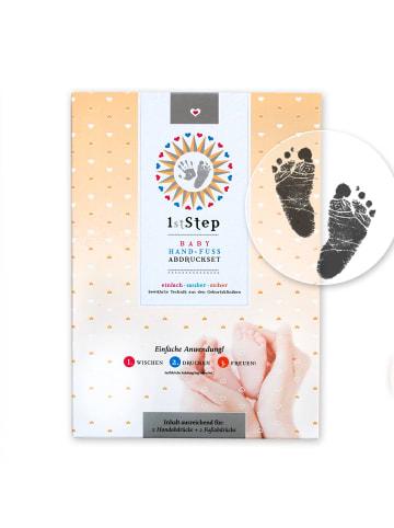 """Berlindesign.store Baby-Abdruckset """"magic ink"""" – 2D – in Schwarz"""