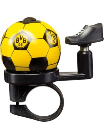 Borussia Dortmund Fahrradklingel BVB, schwarz/gelb, 6,5 x 7 cm