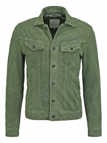 Goosecraft Lederjacke Mojave Desert Suede Jacket in leaf green