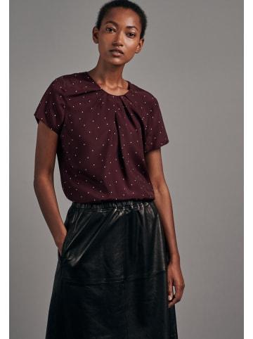 Seidensticker Shirtbluse Regular fit in Rot