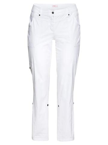 Sheego Hose in weiß