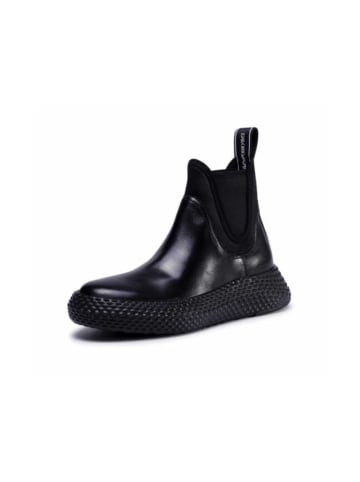 Giorgio Armani Stiefelette in schwarz