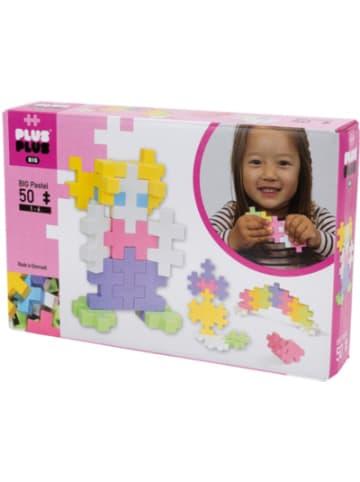 PLUS PLUS Open Play BIG Pastel Mix Kunststoff-Bausteine, 50 Teile