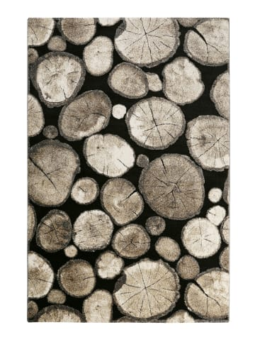 Wecon Home Teppich Logs in beige