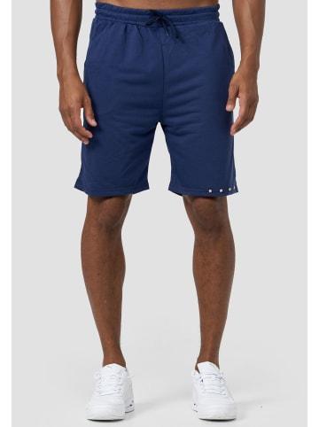 Forbest Trainings Shorts Kurze Sommer Jogginghose Taschen in Blau